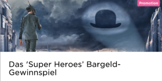 Das Super Heroes Bargeld-Gewinnspiel im Mr Green Casino