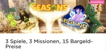 Im Mr Green Casino beginnt die 1.600 € Wochentags Mission