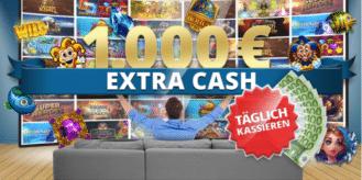 Täglich bis zu 1.000 € Extra Cash im Sunmaker Casino gewinnen