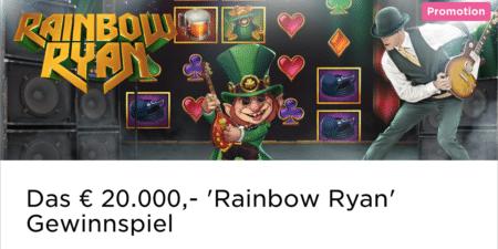Das Rainbow Ryan Bargeld Gewinnspiel im Mr Green Casino