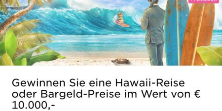 Im Mr Green Casino eine Reise nach Hawaii gewinnen