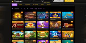 Im Stargames Casino gibt es Merkur Spielautomaten