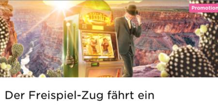 Die Freispiel-Zug Werbeaktion im Mr Green Casino