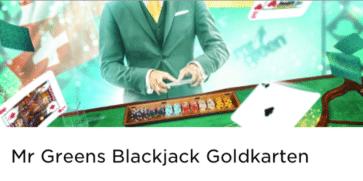 Es gibt wieder goldene Bargeldkarten im Mr Green Casino zu gewinnen