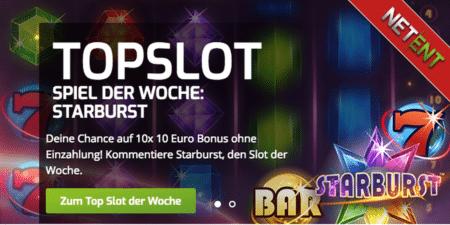 Im Lapalingo Casino heißt der Top Slot der Woche – Starburst