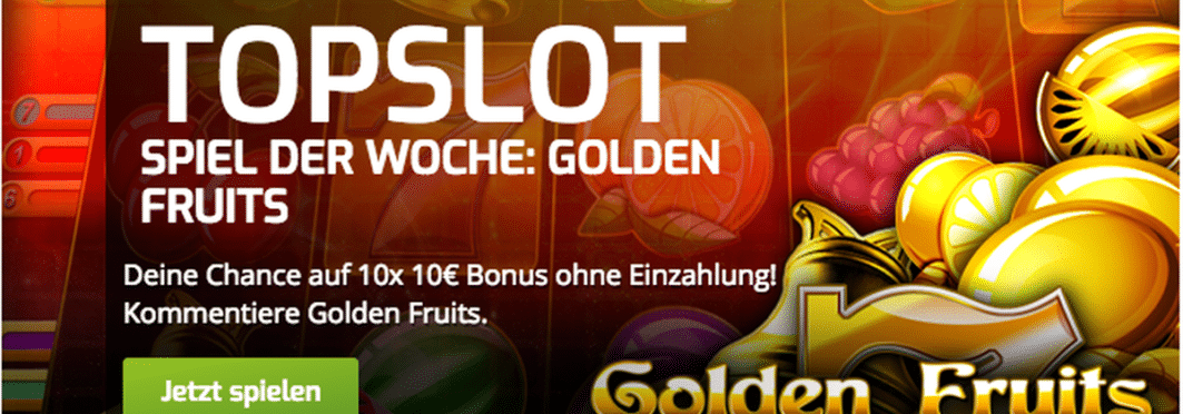 Der Top-Slot der Woche im Lapalingo Casino ist Golden Fruits