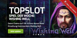 Der Top-Slot der Woche im Lapalingo Casino ist Wishing Well
