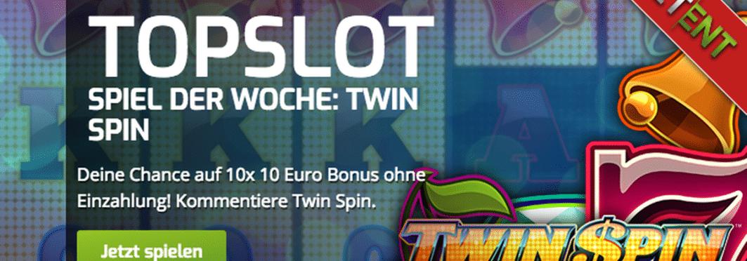 Twin Spin heißt der Top-Slot der Woche im Lapalingo Casino